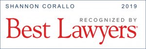 Shannon Corallo Recognized by Best Lawyers in 2019