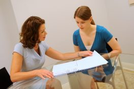 Divorce Attorney with client 1 - Shannon Corallo