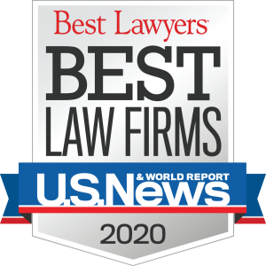 Best Lawyers Best Law Firms - U.S. News & World Report 2020