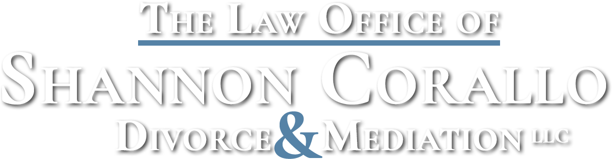 law office of shannon corallo logo - white