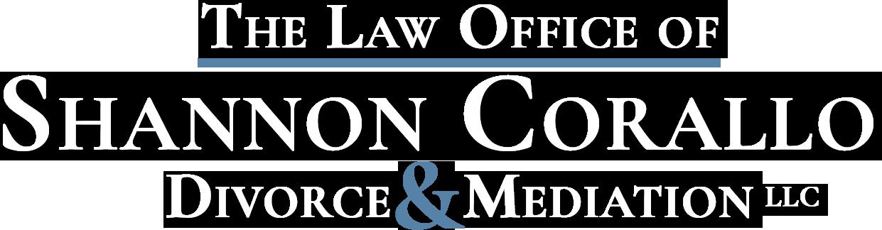 law office of shannon corallo logo - white